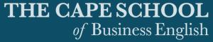 Cape Business English logo