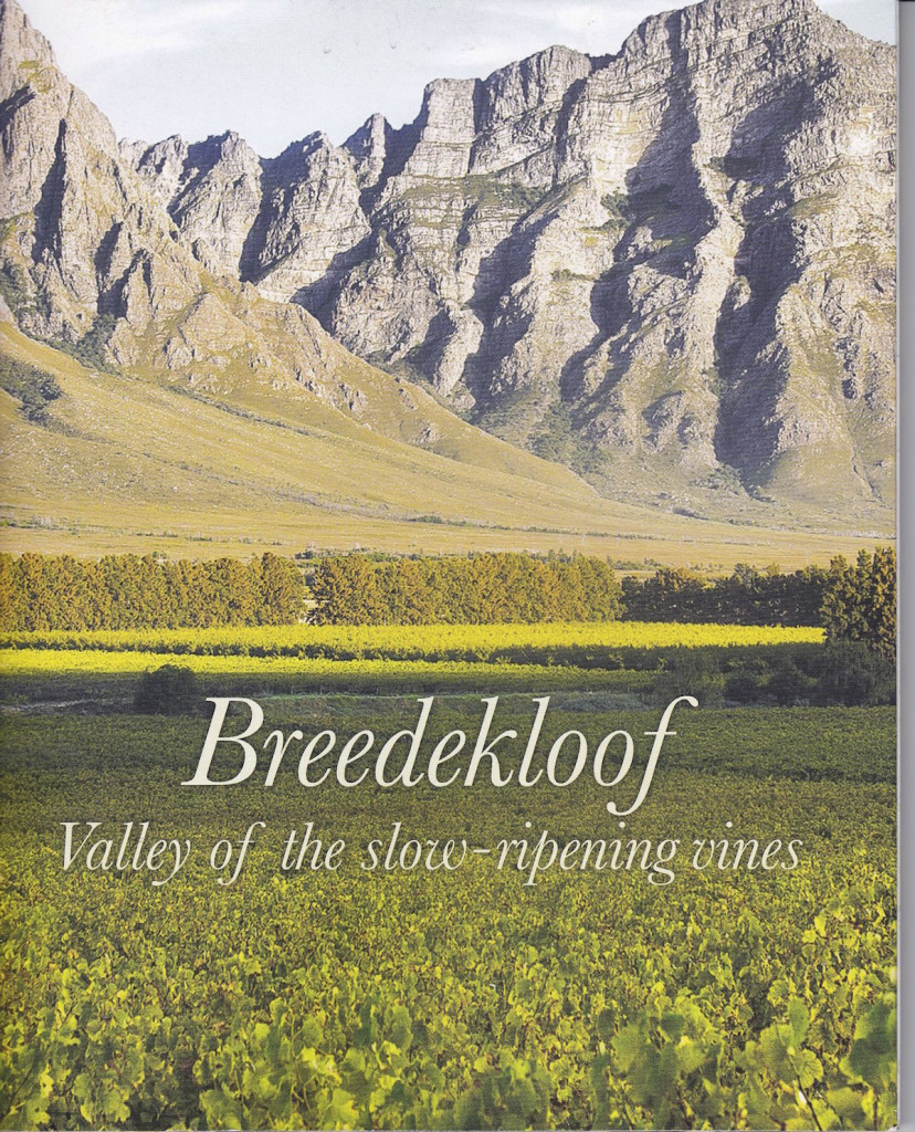 Breedekloof Wine valley brochure